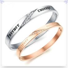 Bracelet en bijoux en bijoux en acier inoxydable à bijoux (BR146)