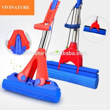 Fregona de limpieza de torsión de esponja PVA con palo de esponja súper absorbente