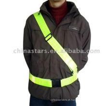EN471 cintura de segurança reflexiva com fita de PVC
