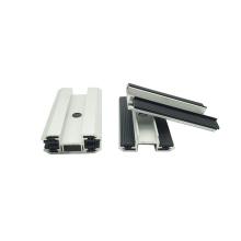 Con EPDM abrazadera solar abrazadera de película delgada para panel de vidrio solar