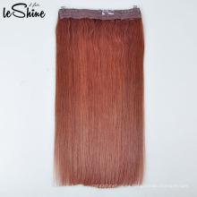 Piezas de pelo al por mayor sin procesar del alambre del pescado del color