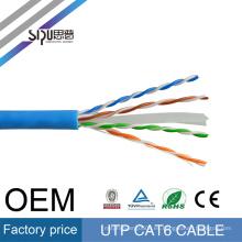 SIPU proveedor chino mejor precio 8 pares utp cable RJ45 ethernet roll cable de red cat6