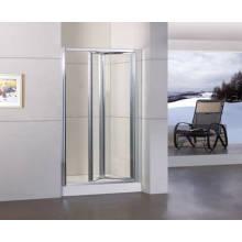 Puerta de ducha bifold con revestimiento de limpieza fácil Duble-Side (WA-B090)