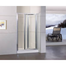 Porta do chuveiro bifold com revestimento de limpeza fácil Duble-Side (WA-B090)