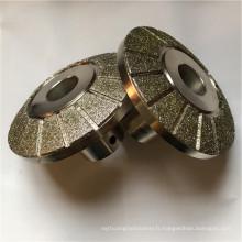 pour la garniture de frein en forme de diamant meule meule meule abrasive