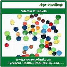 Tablette de vitamine B de culturisme de haute qualité