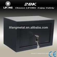 Matériel de sécurité meubles bureau coffre-fort avec petite et de plus grande taille