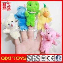ensembles de marionnettes à doigts tricotés à la main animaux péruviens