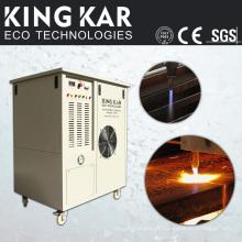 Máquina cortadora de acero con generador de oxígeno