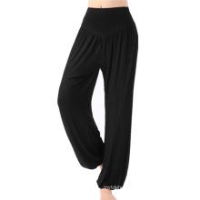 High Waist Dancing Trouser Sport Yoga Soft Lantern Pants