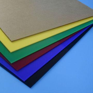 Color Cast Acrylic Sheet PMMA Plastic Sheet