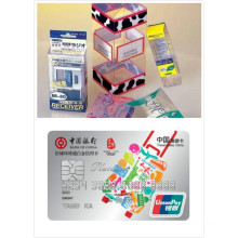 Impresión Clear Taiwan Mateiral Película de plástico rígida PVC