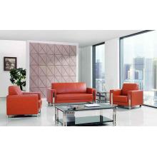 Китай Поставщик кожаный диван офисной мебелью (DX528)