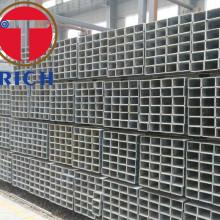 Tubo de pre-galvanizado rectangular ERW de pared gruesa laminada en caliente