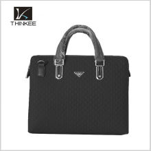 bolso de cuero genuino bolsos de estilo formal marcas de bolsos de cuero de los hombres
