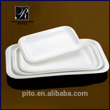 PT-1416 porcelain rectangle plate