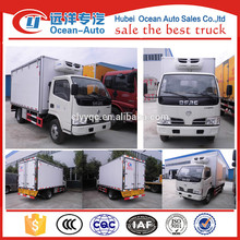 Ice Cream transport refrigerator truck /refrigerator box truck price