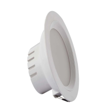 White recessed LED downlight