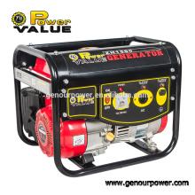 Power Value 1000w 1kw generador AC monofásico con combustible de gasolina