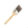 Free sampels профессиональный дешевый нейлоновый кабан щетина для волос щетка для дерева ручка краска