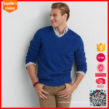 Hot selling long sleeeves wholesale china erdos cashmere sweaters for men