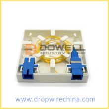 Fiber Optic Termination Wall Socket