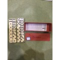 Double 6 Melamine Plastic Dominoes In Plastic Box