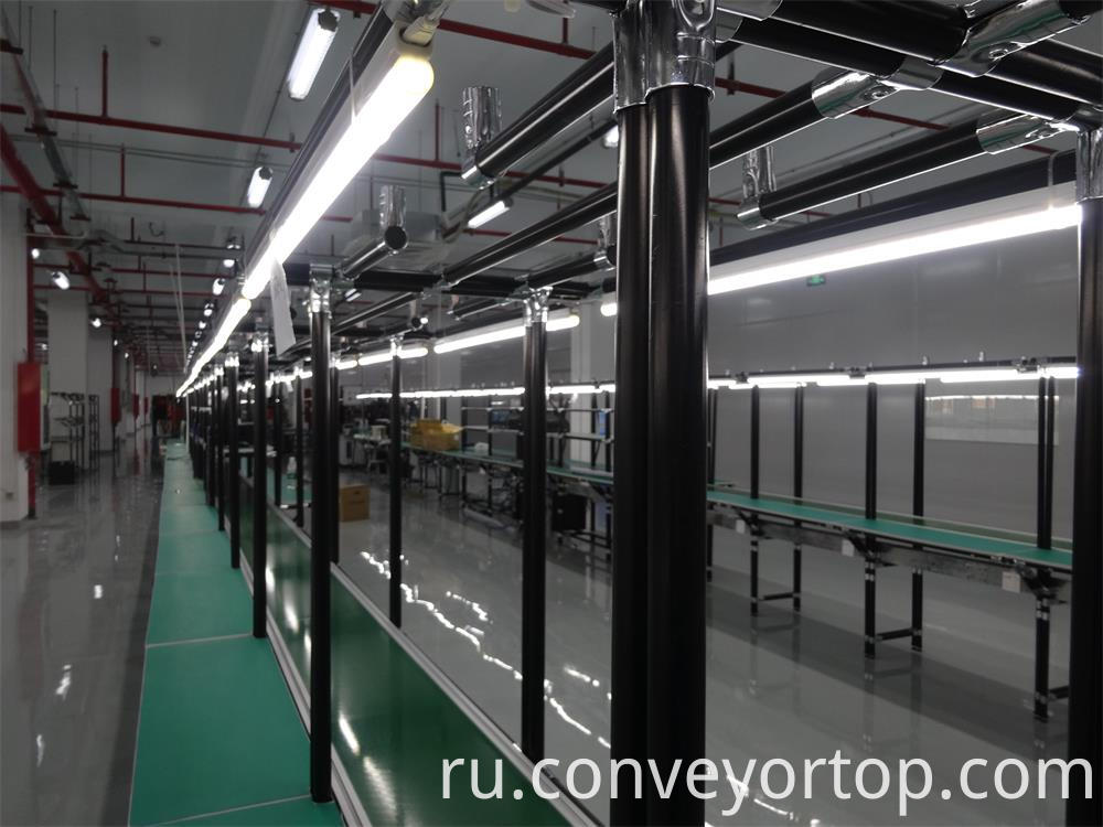 Lean Tube Belt Conveyors