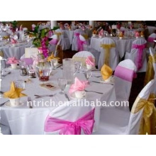 Standard banquet chair cover,CT013 polyester material,durable and easy washable