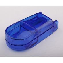 Boîte de pilule en plastique 2015new avec cutter pour promotion Plb31