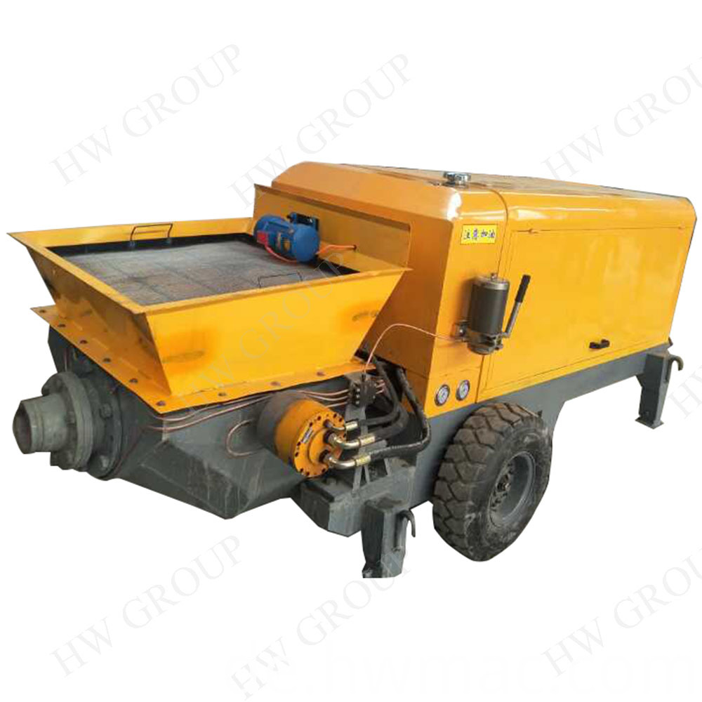 Large Concrete Deliver Pump