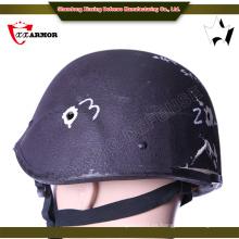 Oro proveedor China 1.3-1.5kg bala prueba / casco balístico con visera balística