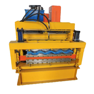 rouleau double couche de tuile vernie formant la machine r72