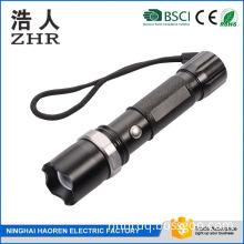 Rechargeable 3 Modes Aluminum Rotate Zoom Tactical MINI Led T6 Led Flashlight Waterproof Bike Light