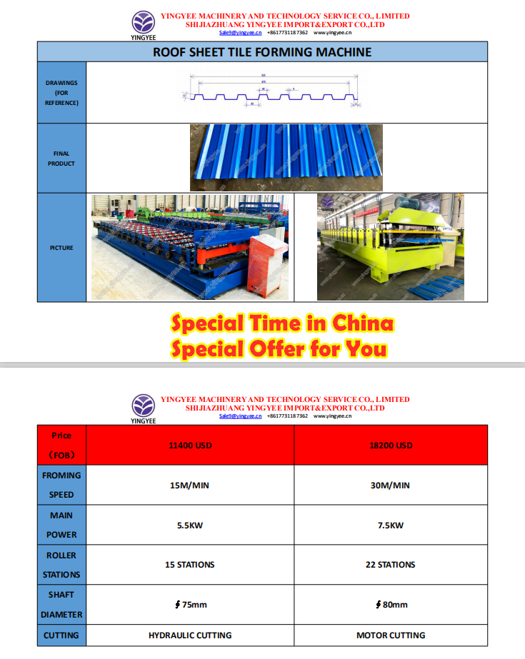 Roof sheet special offer