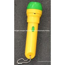 Детский игрушечный проектор-факел с 24 картинками, 8 картинками / диском
