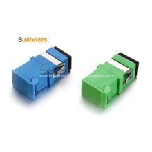 Adaptador de fibra óptica con obturador SC / LC