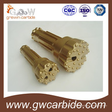 Bouton d'extraction de bits de forage de roche de carbure cémenté Yk05