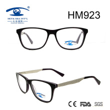 Super Quality Acetate Optical Eyewear Eyeglasses with Metal (HM923)