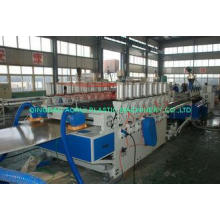5-30mm WPC Board Production Line / Wood Plastic Composite M