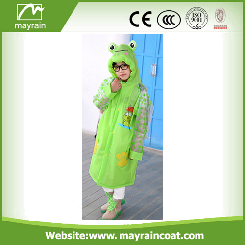 Boys PVC Rainsuit With Logo