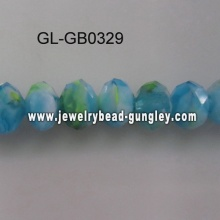 Special color glass beads for necklace