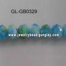 Grânulos de vidro de cor especial para colar