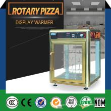 Exhibidor rotatorio del mostrador de la pizza / vitrina de la pizza / máquina del calentador de la pizza