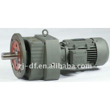 DOFINE R series helical gear reducer dc geared motor