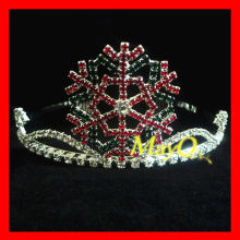 Hot sale snowflake Christmas pageant crown for kids