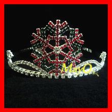 Coroa quente do pageant do floco de neve da venda para miúdos