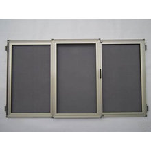 Anti-roubo de aço inoxidável de segurança da tela da janela de compensação