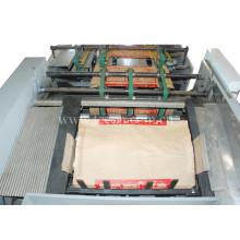 Machine de fabrication de sacs en papier à ciment multifonction et haute production