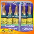 Nouvelles bougies d'anniversaire de bière non parfumées conçues